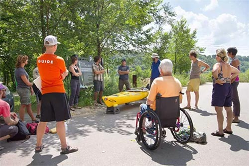 St. Paul Paddle Share Offers Accessible Kayaks