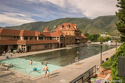 Take The Waters At This Historic Colorado Hot Springs