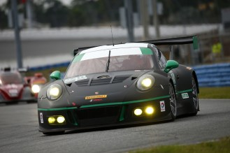 Porsche 911 GT3 R, Black Swan Racing Timothy Pappas, Nicky Catsburg, Patrick Long, Andy Pilgrim