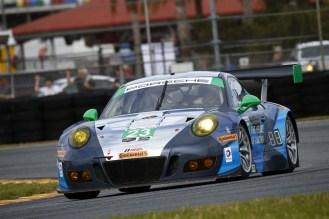 Porsche 911 GT3 R, Team Seattle Alex Job Racing Ian James, Mario Farnbacher, Alex Riberas, Wolf Henzler