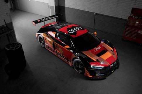 Audi R8 LMS #2 (Phoenix Racing), Alex Davison/Laurens Vanthoor/Markus Winkelhock (AUS/B/D)