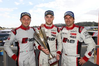 Last year, Marco Mapelli, Laurens Vanthoor and Markus Winkelhock clinched second position