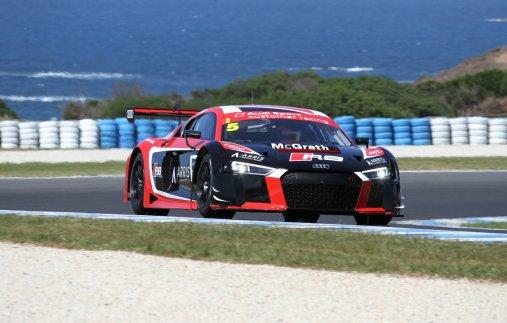 Audi R8 LMS #5 (Arris/GT Motorsport/Pete & Co), Greg Taylor/Barton Mawer/Nathan Antunes