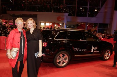 "Doris Doerrie, Rosalie Thomass, Film ""Hail, Caesar!"", Berlinale Palast in Berlin"