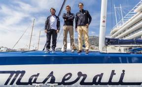 Giovanni Soldini, Pierre Casiraghi & John Elkann