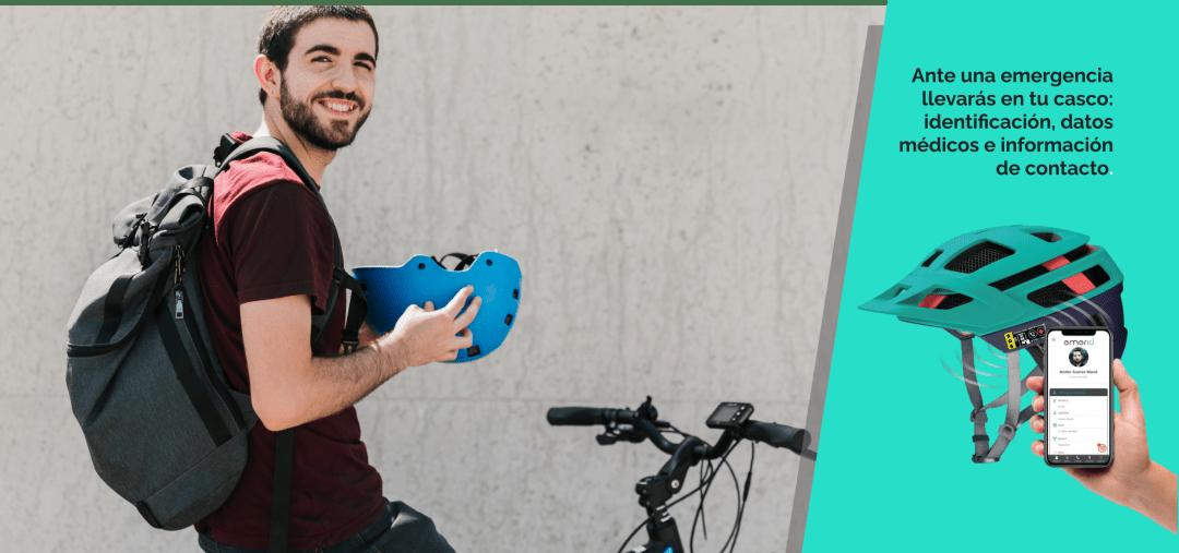 Portada Emerid Helmet identificación contactless en tu casco