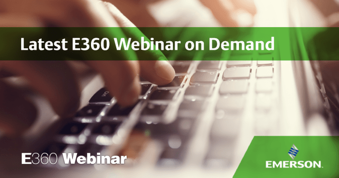 Latest E360 Webinar on Demand