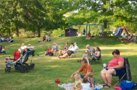 Concert in the Park audience