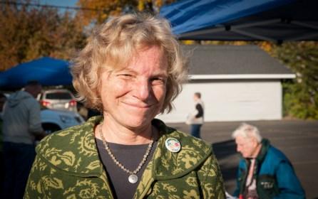 Karen Kinney of the Washington State Farmers Market Association