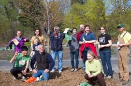 The tree-planting crew.