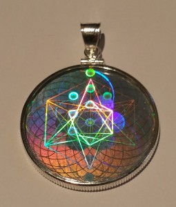 new hologram pendant