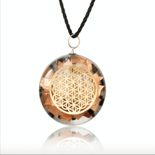 orgone necklace quanthor