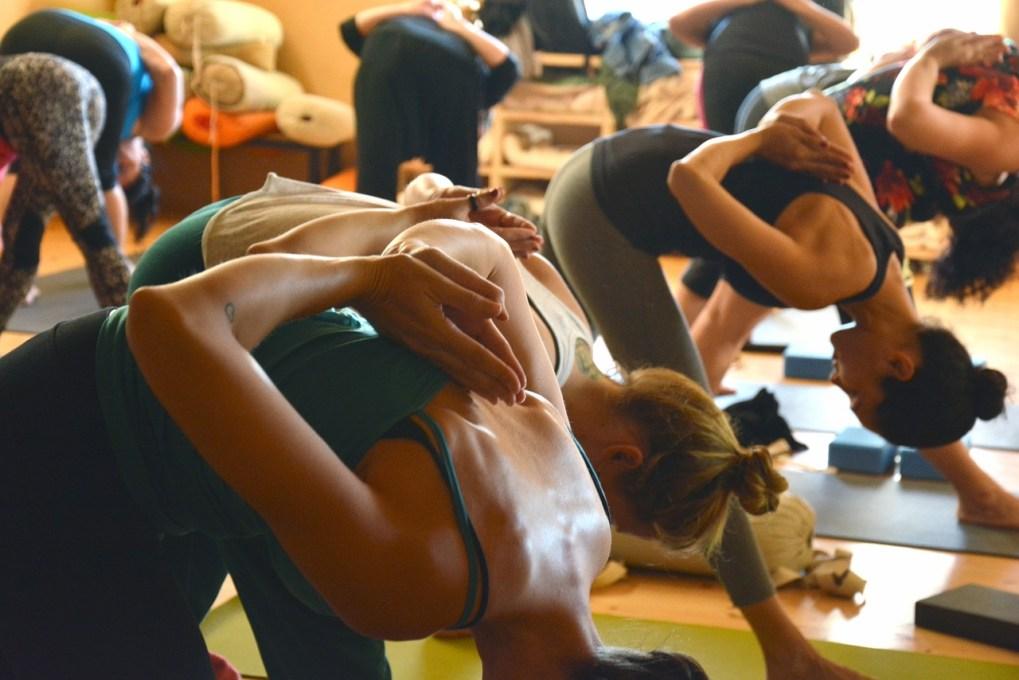 Latest yoga trends