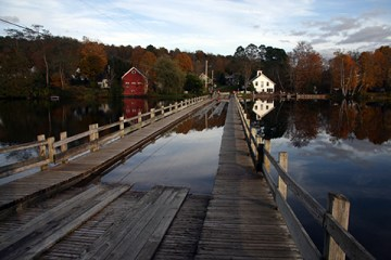 Vermont Floating Bridge