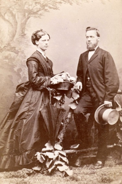 1870 Margaret And William Mclean East Melbourne