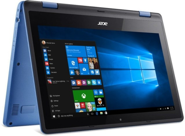 Acer Aspire R3 Pentium Quad Core 4th Gen - (4 GB/500 GB HDD/Windows 10 Home) NX.G0YSI.007 R3-131T-P9J9 2 in 1 Laptop(11.6 inch, SKy Blue, 1.58 kg)
