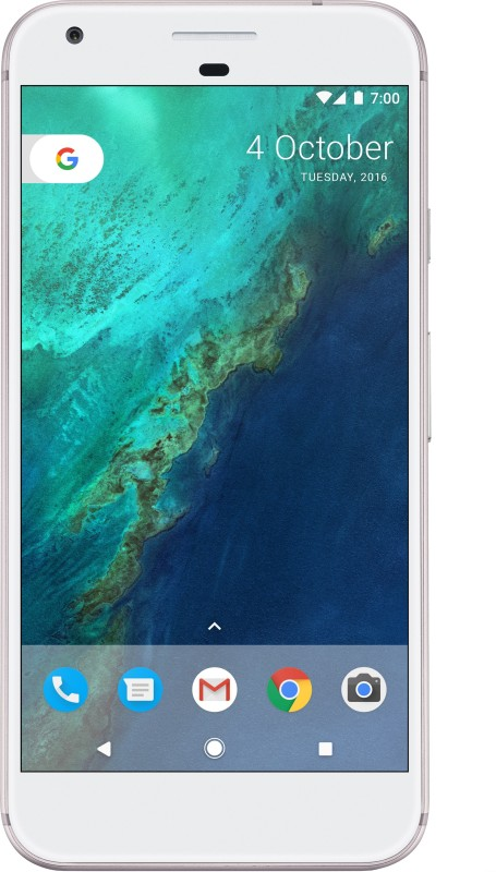 Google Pixel XL (Very Silver, 32 GB)(4 GB RAM)
