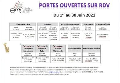 PORTES OUVERTES JUIN 2021