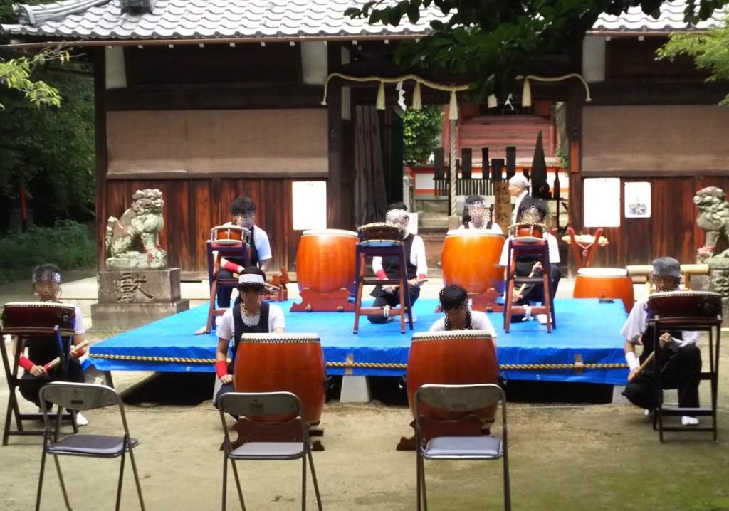 くずは二宮神社鎮魂か祭