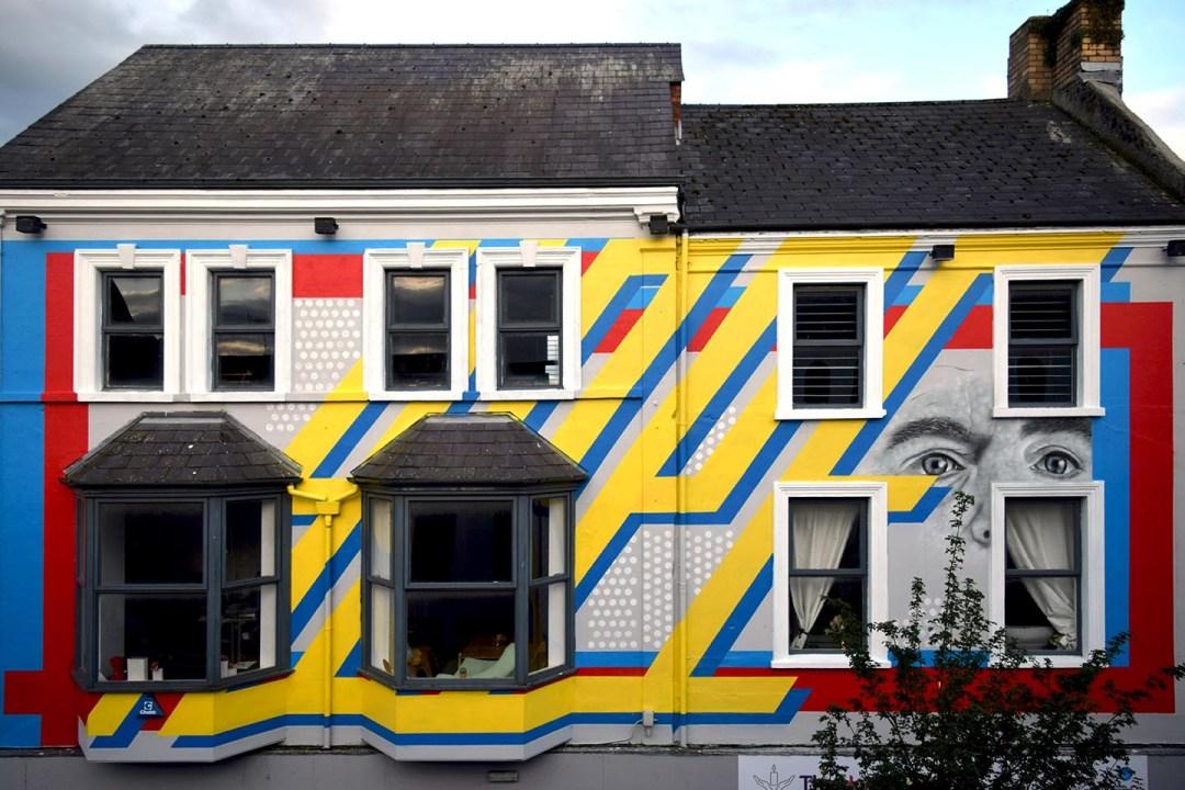 Ballymena street art, emic