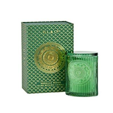 D.L. & Co. Signature Emerald Woods Oval Candle 9oz