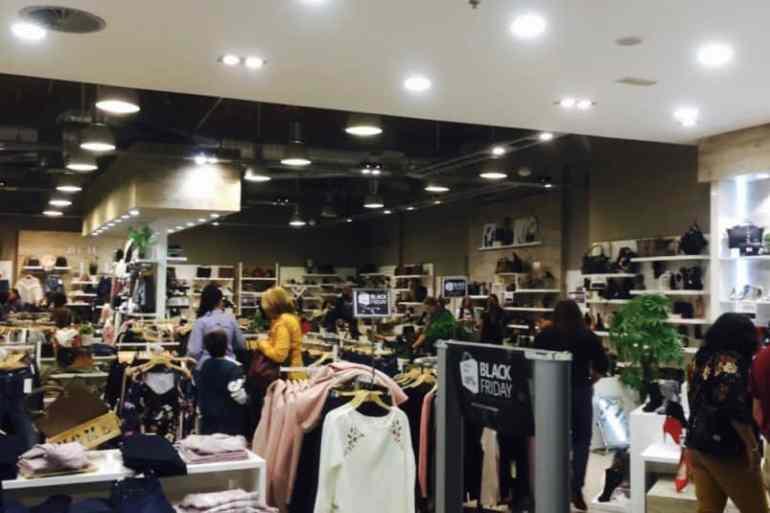 Emigreren Gran Canaria - Winkelcentrum Las Terrazas - Shoppen in kerstsfeer - Winkels Las Terrazas