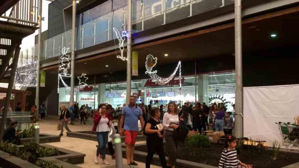 Emigreren Gran Canaria - Winkelcentrum Las Terrazas - Shoppen in kerstsfeer