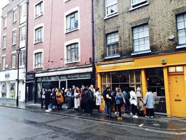 Emigreren Gran Canaria - Londen - Reisverslag van 3 dagen in Londen + handige tips - Onbijt Breakfast Club Soho Londen