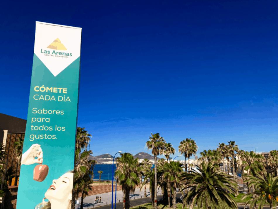 Emigreren Gran Canaria - Reisverslag Gran Canaria deel 3 - Las Palmas & Playa del Inglés - Shoppen in winkelcentrum Las Arenas