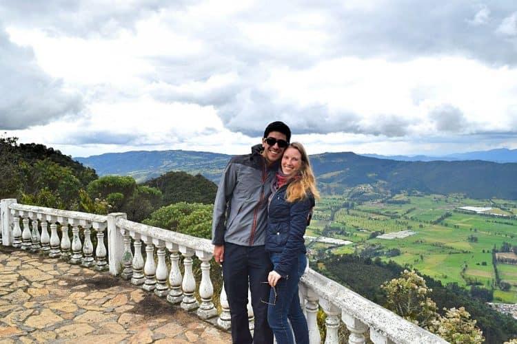 Emigreren Gran Canaria - Inspirerende Emigratieverhalen - Sabine in Colombia - Sabine en haar man in Sopó