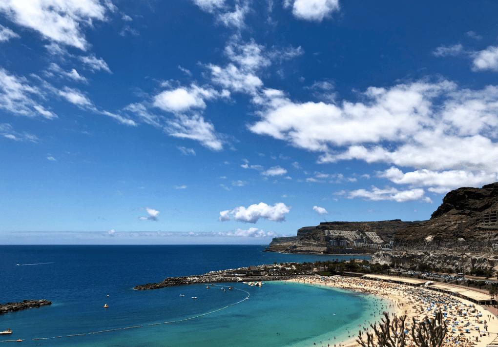Ontdek de prachtige westkust van Gran Canaria - Amadores strand Gran Canaria