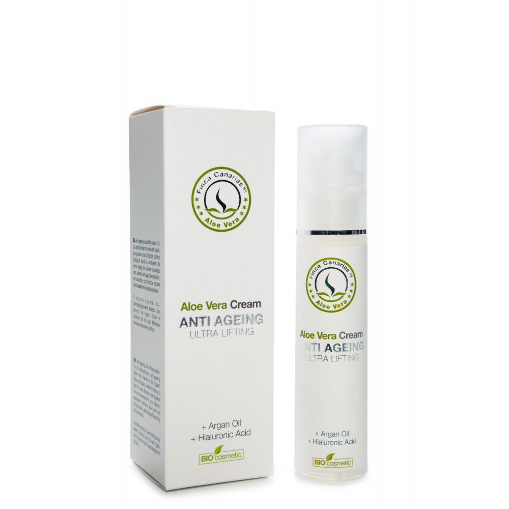 Aloe Vera Anti Age creme kopen met 30 procent Aloe Vera uit de Canarische Eilanden