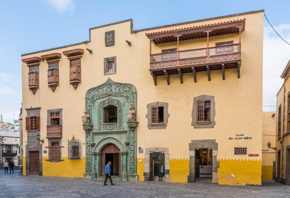 Emigreren Gran Canaria - Feestdagen - De viering van Dia de Hispanidad - 12 oktober Nationale feestdag in Spanje - Casa de Colon Columbus Museum Las Palmas Gran Canaria - Bengt Nyman via Flickr