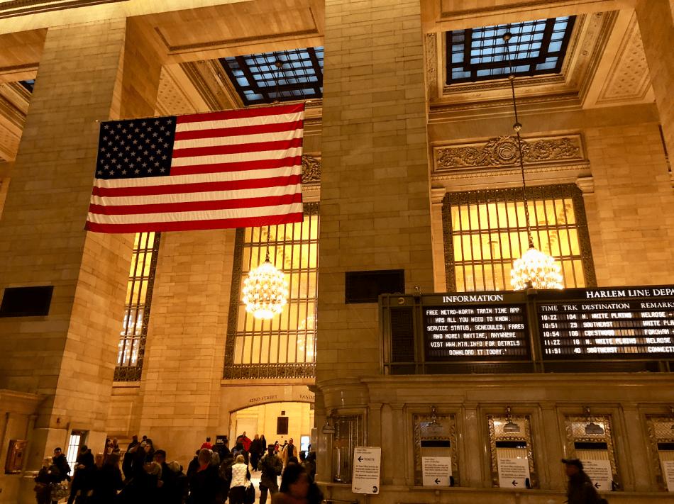 Emigreren Gran Canaria - Reisverslag - Hoogtepunten van NY - Amerika reis deel 4 - Grand Central Station NYC