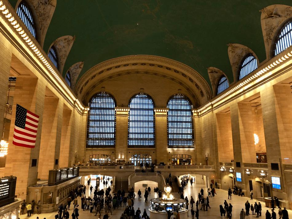 Emigreren Gran Canaria - Reisverslag - Hoogtepunten van NY - Amerika reis deel 4 - Grand Central Terminal NYC