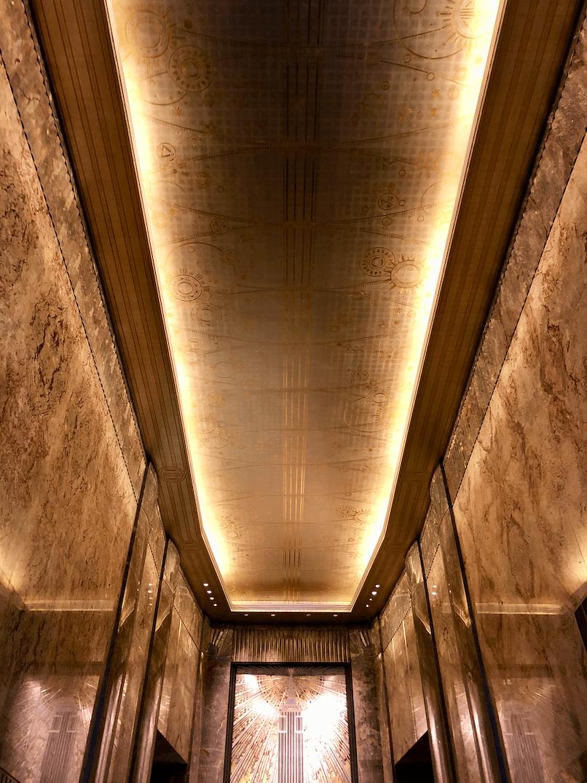 Emigreren Gran Canaria - Reisverslag - Hoogtepunten van NY - Amerika reis deel 4 - Plafond hall Empire State Building