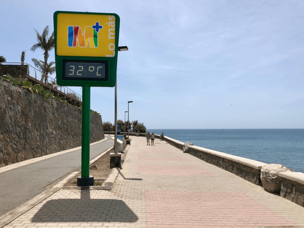 Strand promenade in Meloneras Gran Canaria