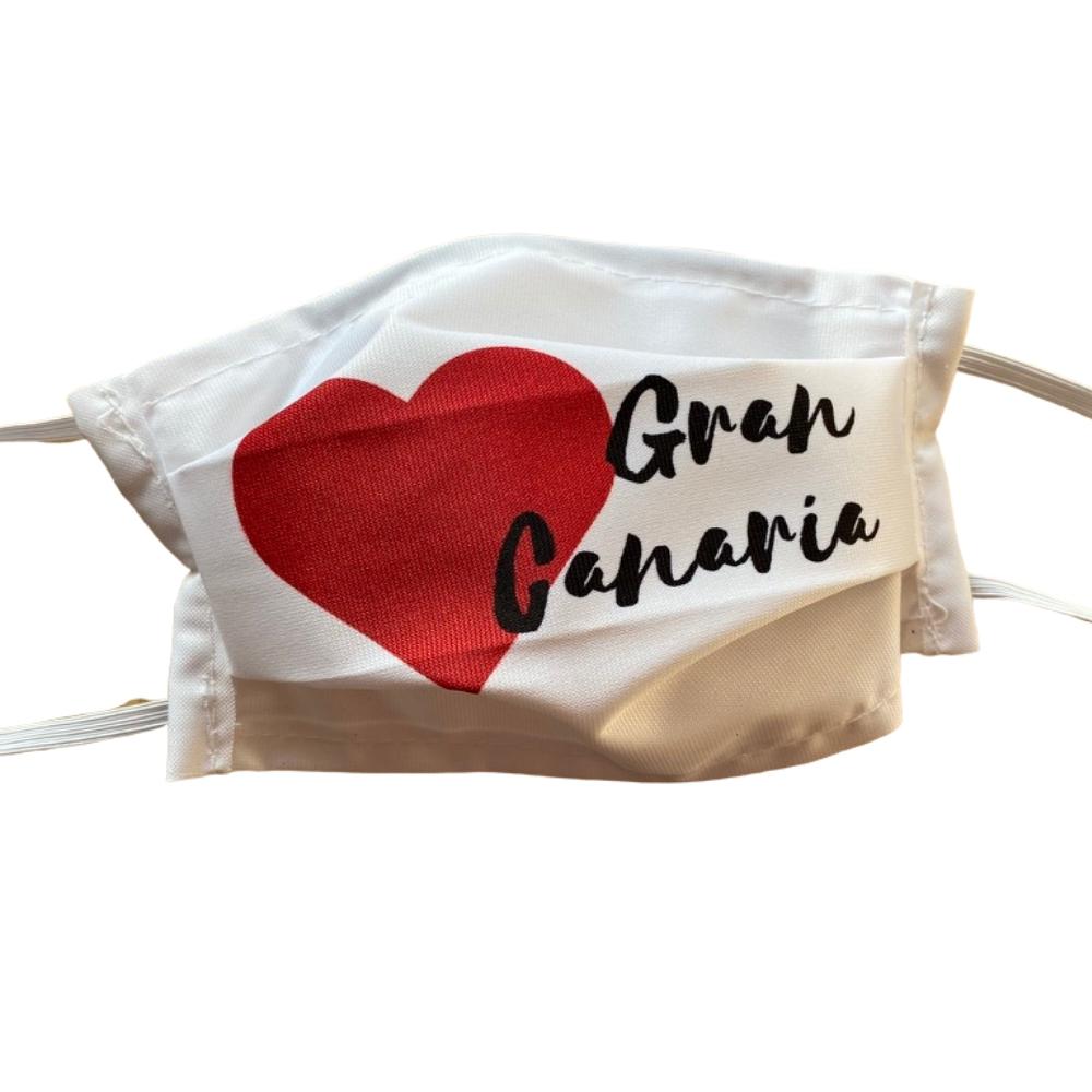 Love Gran Canaria Mondkapje herbruikbaar