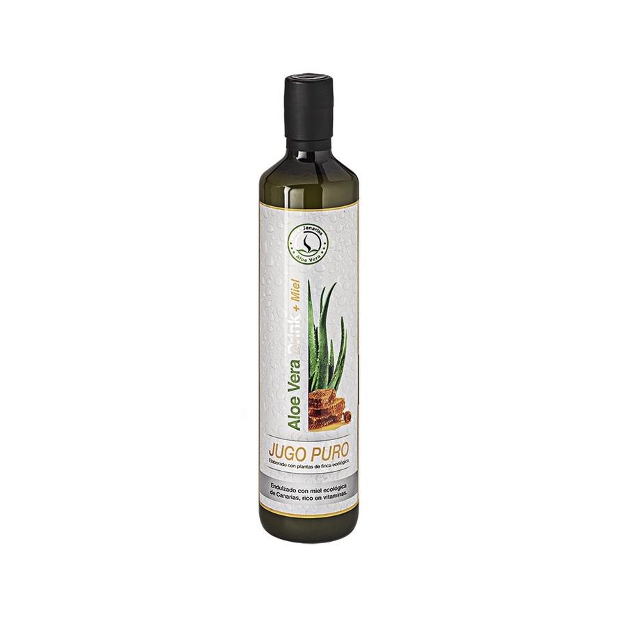 Pure Aloe Vera sap met honing 96 procent