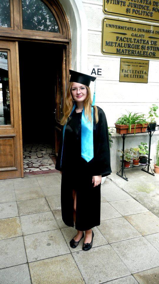Absolventa Jurnalism Alexandra Cristea
