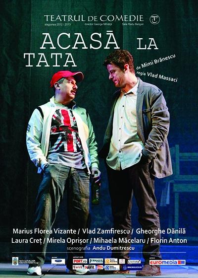 Posterul spectacolului de la Teatrul de Comedie