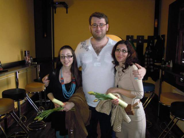 Prima oara cand le-am cunoscut pe surorile Istrate: gala Spring SuperBlog 2013 - RSS Pub
