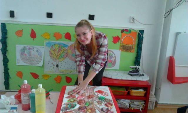 Educatoare Alexandra Cristea