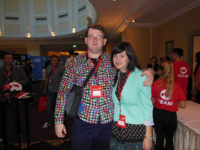 Poza facuta la WebStock 2013