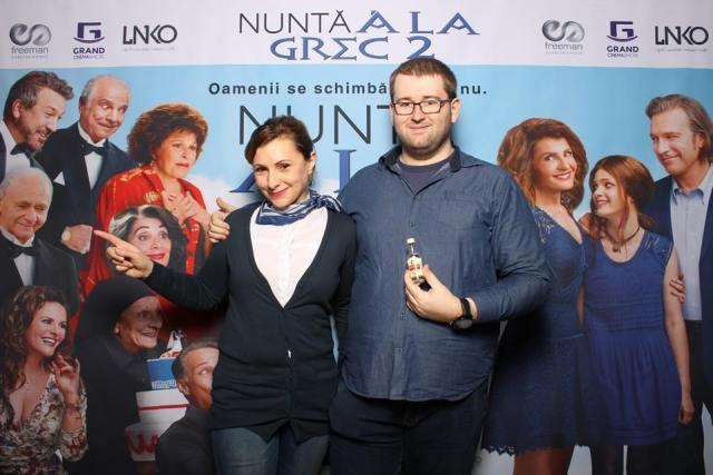 Emil Iulia Nunta a la grec 2 OUZO