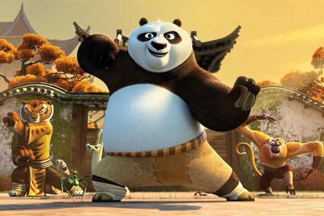 Kung fu Panda 3 Emil si Prietenii