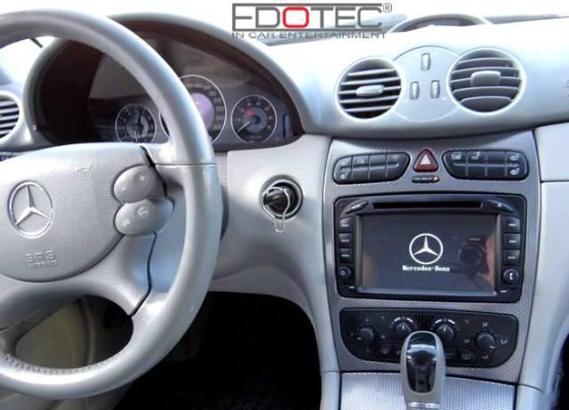 Asa arata boardul unui Mercedes dupa ce specialistii Edotec si-au facut treaba.