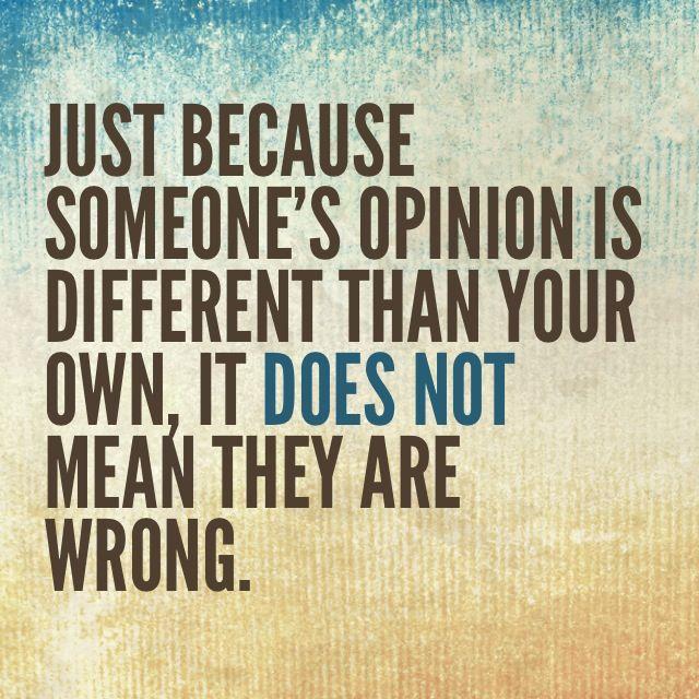 Opinii divergente