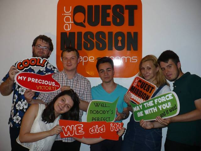 Quest Mission Internet Explorers