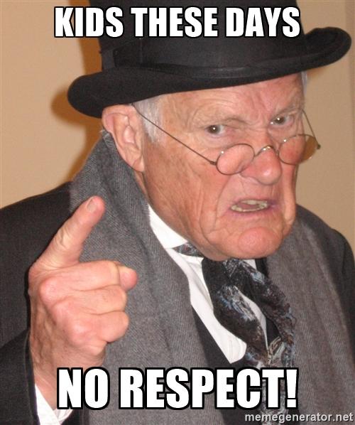 Respect pentru batrani